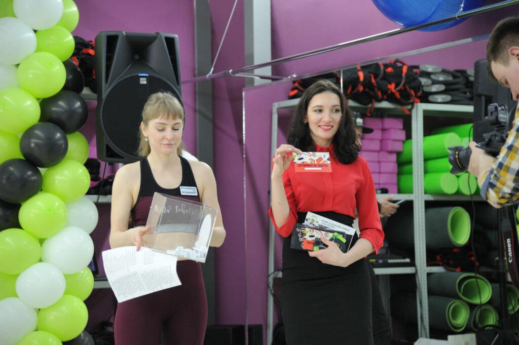 Фото с открытия ФитнесМастер Lady в Хабаровске 8