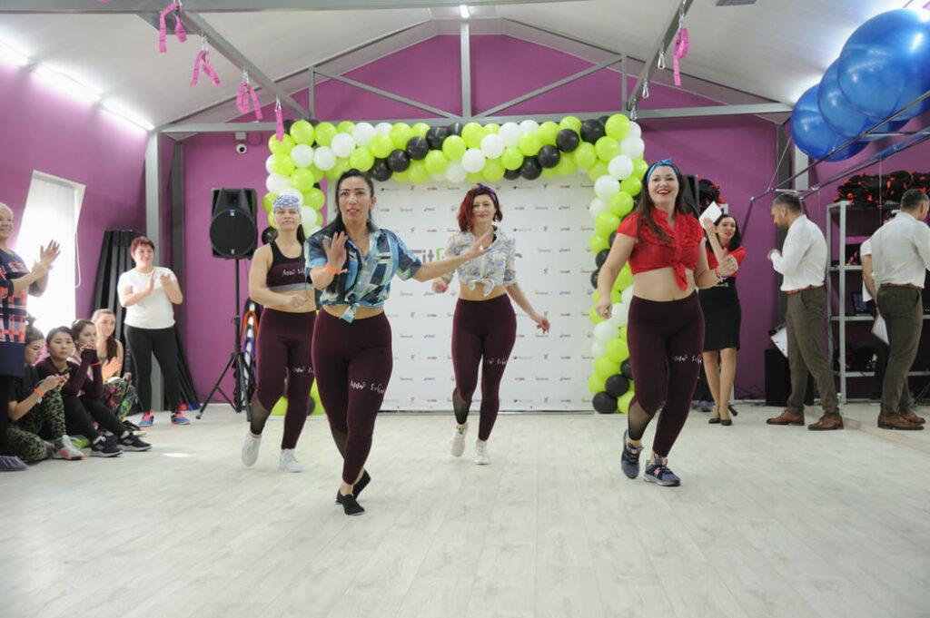 Фото с открытия ФитнесМастер Lady в Хабаровске 4